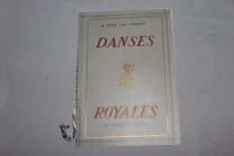 Programme Des Danses Royales 03 Mai 1947 Palais De Khémarin CAMBODGE / INDOCHINE - Programs