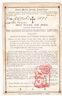 DP ZEH Pater Priester Aloysius Eduard F. Camfens ° Den Haag NL 1809 † Gent BE 1895 / Perusia Perugia Umbrië IT - Devotion Images