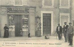 C-18 : 1270 : SAINT-ANDIOL. EPICERIE. MERCERIE. MAISON PERROT - France