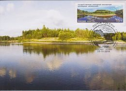 2110 Mih Russia 1893 11 2014 Maxi Cards 2 UNESCO Network Kerzhenskiy Natural Biosphere Reserve - Stamps