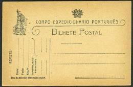 Carte Postale Officielle De Franchise Militaire, Corps Expéditionnaire Portugais En France, Neuve. - Marcophilie (Lettres)