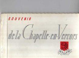 26 Souvenir De LA CHAPELLE EN VERCORS Carnet De 6 Cartes Sur 8 - Autres Communes