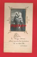 Image Religieuse & Pieuse ... La Vierge Marie ... écrite En 1922 ... - Devotion Images