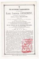DP Griffier Karel L. Coussement ° Roeselare 1816 † Moorsele Wevelgem 1879 X Amanda S. Delahousse - Devotion Images