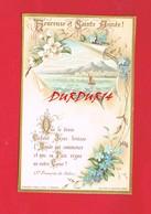 Image Religieuse & Pieuse ... Heureuse Et Sainte Année ... Bouasse - Lebel 1087 - Devotion Images