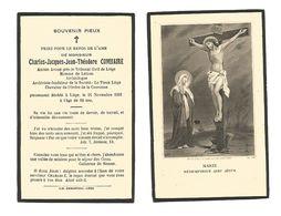 """881. CHARLES COMHAIRE - Ancien Avoué Près Le Tribunal De Liège/archiviste-fondateur """"Le Vieux Liège - +LUIK 1931 (62ans) - Devotion Images"""