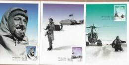 AAT Maxicards 2012 Philip Law - Set Of 3 FDI - Maximum Cards