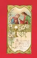 Image Religieuse & Pieuse & Généalogie ... Communion De Madeleine LEBESNERAIS En 1929 Eglise St Pierre De TINCHEBRAY - Devotion Images