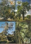 Australia Maxicards 2015 Australian Trees - Set 4 FDI High Values - Maximum Cards