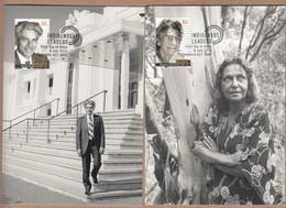 Australia Maxicards 2013 Idigenous Leaders - Set 5 FDI - Maximum Cards