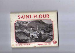 15 ST FLOUR Mini Carnet Pochette De 10 Photos Veritables - Saint Flour