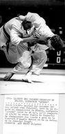 Sport * Judo * Finale Du Chanpionnat De France *  Laurent Del Colombo  à Paris En 1981  ( Photo 13 X 18 Afp ) - Sports