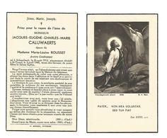 883. JACQUES  CALUWAERTS   - °SCHAARBEEK 1913 / +ST-TRUIDEN 1948 - Devotion Images