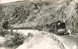 200218 PHOTO VILAIN - 26 Vers JONCHERES Vichy Marseille - Chemin De Fer Train Locomotive - Autres Communes