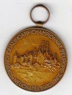 Basketball / Sport / Medal / European Basketball Qualifications Tournament / Neuchatel 1970 - Apparel, Souvenirs & Other