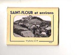 15 ST FLOUR Et Environs Mini Carnet Pochette De 10 Photos - Saint Flour
