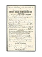 885. ROSALIA - T. STRAATMAN - °LINNE (HOLLAND) 1849  / +HECHTEL 1920 - Devotion Images
