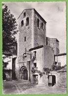 Belle CPSM Saint GUILHEM Le Désert Clocher Et Porte Romane Horloge 34 Hérault - France