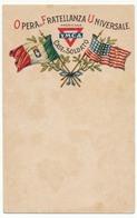 Carte Postale De Franchise Militaire - YMCA - Missione Americana - 1900-44 Victor Emmanuel III