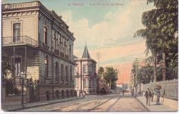 ALTE AK   SAO PAULO / Brasilien  - Rue Florencio De Abrau - 1911 Gelaufen - São Paulo
