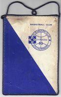 Basketball / Flag, Pennant / Basketball Club Jugokeramika, Zapresic / Croatia, Yugoslavia - Uniformes, Recordatorios & Misc