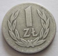 POLAND 1957, 1 ZLOTE - Poland