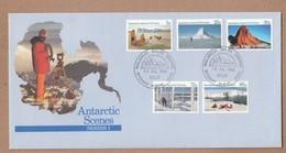AAT 1984 FDC Antarctic Scenes 1 - FDC