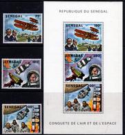 SENEGAL  1978 SPACE SET + SHEET  MNH                SPACE - Senegal (1960-...)