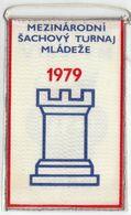 Chess / Flag, Pennant / International Chess Youth Tornament, Brno, Czechoslovakia, 1979 - Other