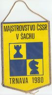 Chess / Flag, Pennant / Chess Championship Of Czechoslovakia, Trnava 1980 - Other