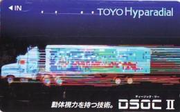 Télécarte JAPON * TOYOTA (1390)  * Phonecard JAPAN * VOITURE * Auto CAR * TELEFONKARTE * - Auto's