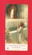 Image Religieuse & Pieuse & Généalogie Communion De Jean ACHARD En 1939 Eglise St Pierre TINCHEBRAY & Tesnière L 592 - Devotion Images