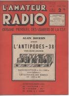 L' Amateur Radio TSF Février 1938 - Books, Magazines, Comics