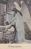 Ange Gardien, Guardian Angel, Engel, Old Postcard (pk43460) - Anges