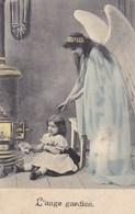 Ange Gardien, Guardian Angel, Engel, Old Postcard (pk43461) - Anges
