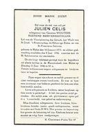 892. JULIEN  CELIS - Rustend Brievenbesteller - °HALEN 1873 En Aldaar + 1946 - Devotion Images