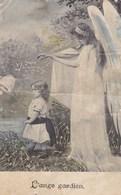 Ange Gardien, Guardian Angel, Engel, Old Postcard (pk43462) - Anges