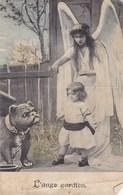 Ange Gardien, Guardian Angel, Engel, Old Postcard (pk43463) - Anges