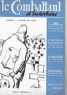 Combattant D'Indochine - Janvier 1955 - Magazines & Papers