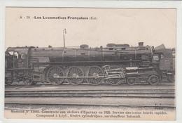 CPA- A - 18 - Les Locomotives Française (EST)-Machine N°41001. Construite Aux Ateliers D'Epernay En 1925-dép51 -TBE - Epernay