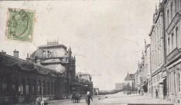ARLON / LA GARE ET AVENUE DES VOYAGEURS 1910 - Arlon