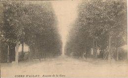 CPA-1920-03-COSNE D ALLIER-AVENUE De La GARE-TBE- - France