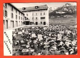 GBI-00  Monthey Et Caserne. Cachet Militaire ER Inf. Mont.,  Photo-Studio 11 Jean Pot, Monthey, Grand Format - VS Valais