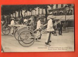 GBI-12  Pousses-Pousses Place Bellecourt à L'Exposition Internationale De Lyon En 1914 - Autres