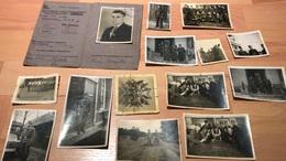 Kleines Lot Foto Konvolut Legion Condor Luftwaffe Spanienkreuz Träger Angehöriger 13  Fotos & 1Führerschein - 1939-45