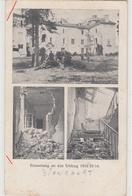 CPA- Allemande- BIONCOURT - Multivues -Schloss-Erinnerung An Den Feldzug 14/15/16.-1916- Dép57 -2scans - France