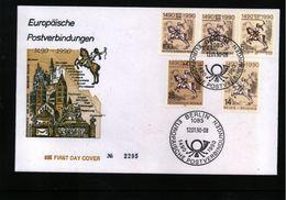 Deutschland / Germany 1990 Europaeische Postverbindungen Interessanten Brief - Post