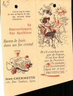 Vins, Provenciel, Jean Chermette, Illustration     (bon Etat)  Dim: 10 X 7.5. - Alcohols
