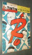 TINTIN N°745 - Janvier 1963 - Bon état - Couverture Tibet (Ric Hochet) - Tintin