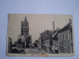 Peer // Kerkstraat (ander Zicht) Gelopen 1947 Vlek Onderrand - Peer